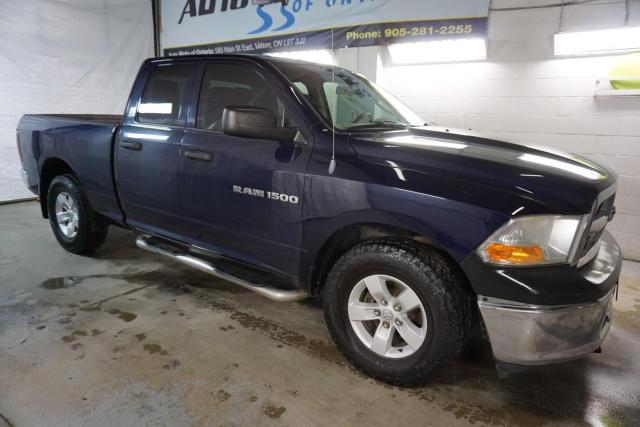 2012 Dodge Ram 1500 ST 4x4 CAMERA CERTIFIED 2YR WARRANTY *1 OWNER*FREE ACCIDENT* BLUETOOTH CRUISE ALLOYS