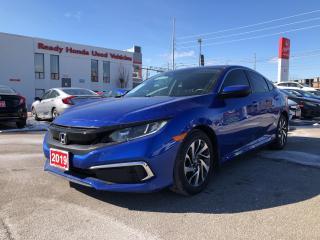 Used 2019 Honda Civic Sedan EX - Sunroof - Lane watch - Rear Camera for sale in Mississauga, ON