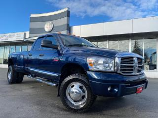 Used 2007 Dodge Ram 3500 Laramie 4WD DRW DIESEL LEATHER SUNROOF NAVI TUNED for sale in Langley, BC