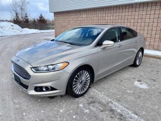 Used 2015 Ford Fusion Titanium | AWD | NAVI | REAR CAM | PUSH START | for sale in Barrie, ON
