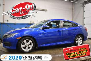 Used 2017 Honda Civic LX | ALLOY WHEELS | HEATED SEATS | LOW LOW PAYMENT for sale in Ottawa, ON