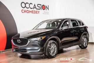 Used 2017 Mazda CX-5 GS AWD+CAM/RECUL+CUIR +SIEG/CHAUFF + SIEG/ELECT for sale in Laval, QC