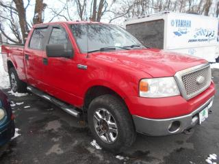 Used 2008 Ford F-150 4 RM, Super cabine multiplaces 139 po, X for sale in Sorel-Tracy, QC