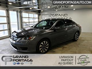 Used 2014 Honda Accord Hybrid Berline 4 portes for sale in Rivière-Du-Loup, QC