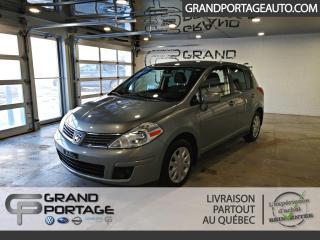 Used 2009 Nissan Versa Hayon 5 portes automatique, 1,8 S **Très for sale in Rivière-Du-Loup, QC