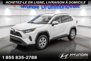 Used 2020 Toyota RAV4 LE AWD + GARANTIE + CAMERA + A/C + WOW for sale in Drummondville, QC