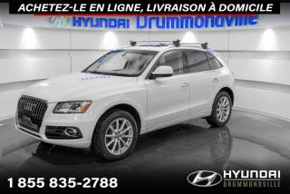Used 2017 Audi Q5 TECHNIK QUATTRO + GARANTIE + NAVI + WOW for sale in Drummondville, QC