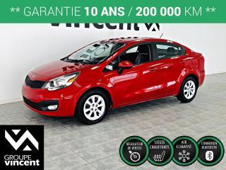 Used 2013 Kia Rio LX PLUS ** GARANTIE 10 ANS ** FIable et économique, la RIo répond à tout les besoins! for sale in Shawinigan, QC