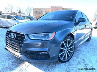 Used 2015 Audi A3 2.0T Progressiv quattro berline 4 portes for sale in Drummondville, QC