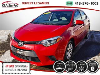Used 2016 Toyota Corolla LE* SIEGES CHAUFFANTS* CAMERA DE RECUL* for sale in Québec, QC