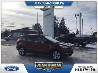 Used 2016 Ford Escape MODÈLE SE 4X4 SIÈGE ÉLECTRIQUE CHAUFFANT for sale in St-Félicien, QC