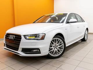 Used 2016 Audi A4 S LINE QUATTRO TOIT SIÈGES CHAUFFANTS *CUIR* for sale in Mirabel, QC