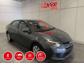 Used 2015 Toyota Corolla LE - SIÈGES CHAUFFANTS for sale in Québec, QC