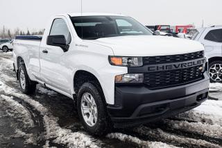 Used 2020 Chevrolet Silverado 1500 REG CAB 5.3 4X4  MAGS for sale in St-Hubert, QC