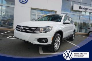 Used 2017 Volkswagen Tiguan Wolfsburg Edition for sale in Hebbville, NS