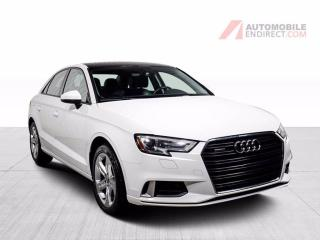 Used 2017 Audi A3 KOMFORT AWD 2,0T CUIR TOIT MAGS for sale in St-Hubert, QC
