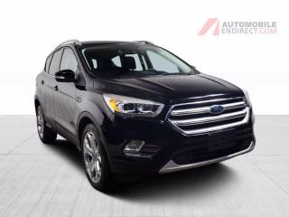 Used 2017 Ford Escape TITANIUM AWD CUIR TOIT NAV for sale in St-Hubert, QC