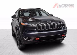 Used 2015 Jeep Cherokee TRAILHAWK AWD V6 CUIR TOIT PANO MAGS GPS for sale in Île-Perrot, QC