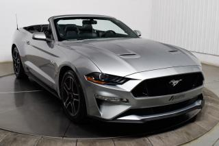 Used 2020 Ford Mustang GT PREMIUM CONVERTIBLE CUIR MAGS GPS for sale in Île-Perrot, QC