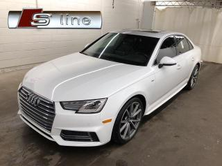 Used 2017 Audi A4 S-Line Mags 19 for sale in St-Eustache, QC