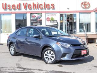 Used 2016 Toyota Corolla CE  - YES WE ARE OPEN! for sale in North York, ON