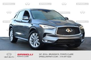 Used 2019 Infiniti QX50 LUXE AWD / CUIR / TOIT PANO / CAMERA CUIR - TOIT PANO - CAMERA for sale in Montréal, QC