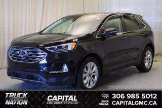 Used 2020 Ford Edge Titanium AWD*LEATHER*SUNROOF*NAV* for sale in Regina, SK