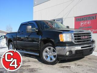 Used 2013 GMC Sierra 1500 SLT CUIR CREW 5.3 4X4 for sale in St-Jérôme, QC