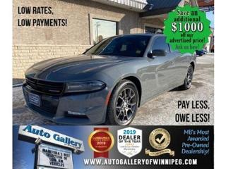 Used 2018 Dodge Charger GT* AWD/Heated seats/Satellite Radio/Remote start for sale in Winnipeg, MB