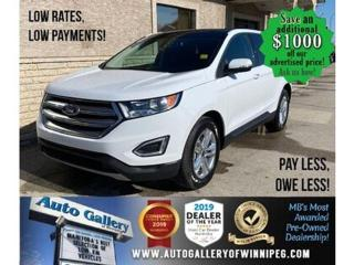 Used 2016 Ford Edge SEL* AWD/Navigation System/LOW KILOMETRES for sale in Winnipeg, MB