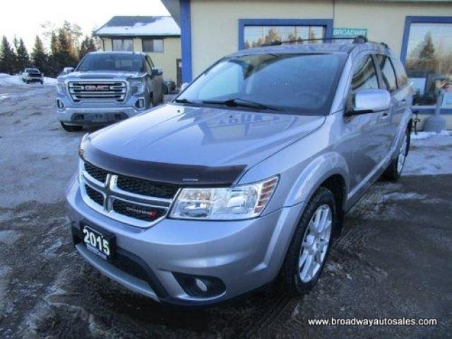 2015 Dodge Journey FAMILY MOVING LIMITED EDITION 7 PASSENGER 3.6L - V6.. BENCH & THIRD ROW.. HEATED SEATS.. DVD PLAYER.. BACK-UP CAMERA.. BLUETOOTH SYSTEM..
