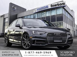 Used 2017 Audi A4 PROGRESSIV AWD|NAVI|CLEAN CARFAX|LOW KM for sale in Scarborough, ON
