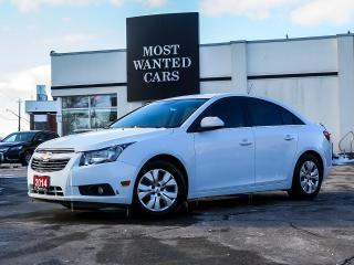 Used 2014 Chevrolet Cruze 1LT|BLUETOOTH|KEYLESS ENTRY|FOG LIGHTS|TINTED WINDOWS for sale in Kitchener, ON
