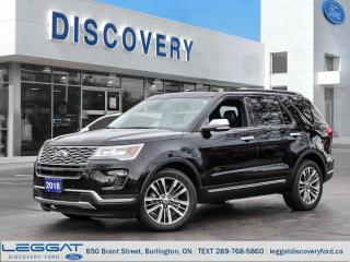 Used 2018 Ford Explorer Platinum for sale in Burlington, ON