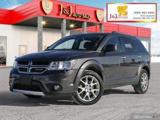 Used 2016 Dodge Journey R/T AWD, Loaded , Nice little SUV for sale in Brandon, MB