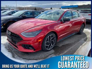 New 2021 Hyundai Sonata 2.5T N-Line for sale in Port Hope, ON