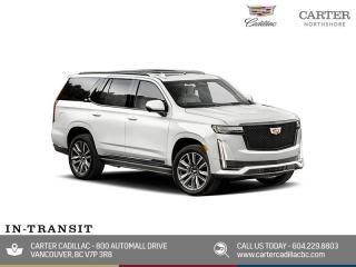 New 2021 Cadillac Escalade ESV Sport Platinum for sale in North Vancouver, BC