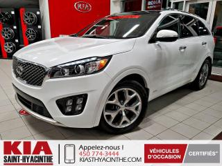 Used 2016 Kia Sorento SX+ V6 AWD ** NAVI / CUIR / TOIT for sale in St-Hyacinthe, QC