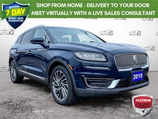 Used 2019 Lincoln Nautilus Reserve AWD Leather/Navi/Roof for sale in St Thomas, ON