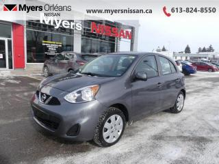 Used 2017 Nissan Micra SV  - Bluetooth - $79 B/W - Low Mileage for sale in Orleans, ON