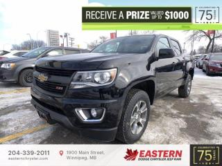 Used 2020 Chevrolet Colorado 4WD Z71 | No Accidents |  Backup Cam | Remote Start | for sale in Winnipeg, MB