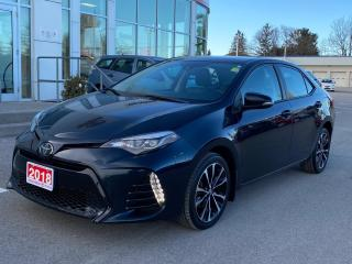 Used 2018 Toyota Corolla SE UPGRADE+PLATINUM WARRANTY-100,000 KMS! for sale in Cobourg, ON