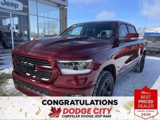 New 2021 RAM 1500 Sport   4x4   Crew Cab   5.7 Box for sale in Saskatoon, SK
