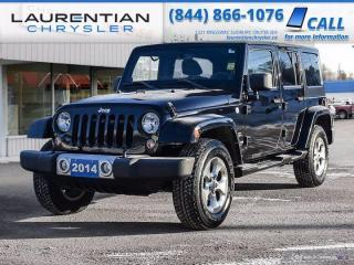 Used 2014 Jeep Wrangler Unlimited Sahara!!  4WD!!  BLUETOOTH!! for sale in Sudbury, ON