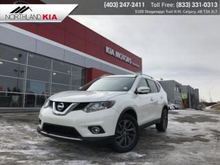 Used 2016 Nissan Rogue SL AWD, 360 BACKUP CAMERA, NAV, HEATED SEATS for sale in Calgary, AB