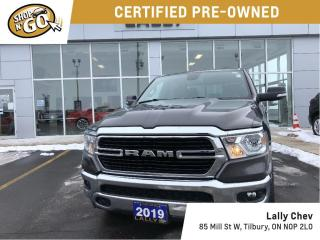 Used 2019 RAM 1500 Big Horn 4x4 Crew Cab 5'7  Box for sale in Tilbury, ON