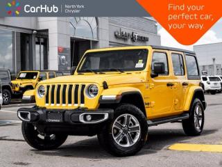New 2021 Jeep Wrangler Sahara Unlimited 4x4 Cold Weather Grp Nav & Sound Grp LED Lighting for sale in Thornhill, ON