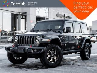 Used 2018 Jeep Wrangler Unlimited Rubicon 4x4 Heated Seats & Wheel Nav & Sound for sale in Thornhill, ON