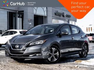 Used 2019 Nissan Leaf SV Heated Seats & Wheel Navigation Backup Camera Bluetooth for sale in Thornhill, ON
