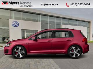 Used 2017 Volkswagen Golf GTI 5-Door Autobahn  - Certified for sale in Kanata, ON